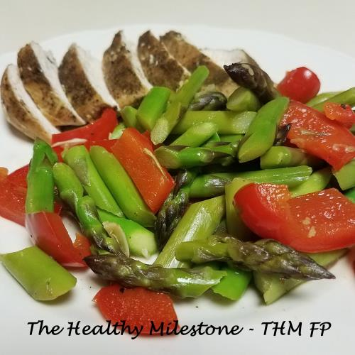 Lemon Asparagus Chicken-THM FP