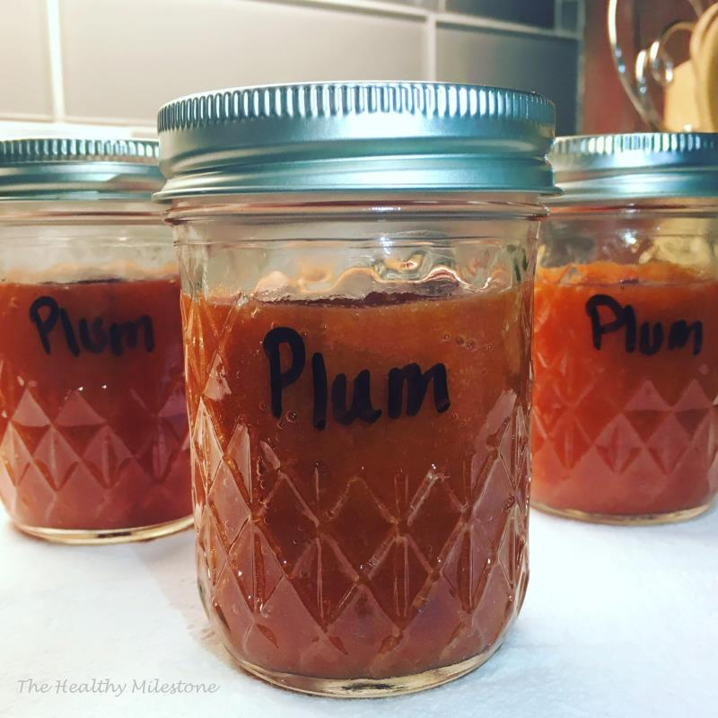 Simple Instant Pot Plum Butter-THM E