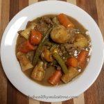 instant pot hamburger stew