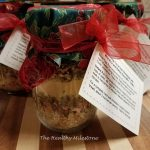 wild rice and barley soup mix in a jar
