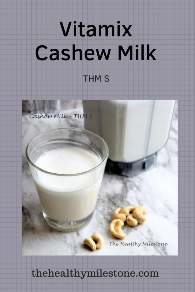 vitamix cashew milk pin
