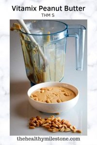 vitamix peanut butter pin